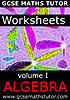 Worksheets - Volume 1 - Algebra
