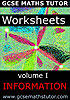 worksheet ebook volume 1 - Information
