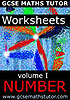 Worksheets - Volume 1 - Number